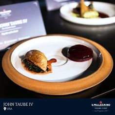 John Taube IV will represent the USA with his signature dish of 'Squab and a Beet.'