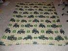 Cool John Deere Tractor Double Sided Twin Size 75 x 85 Bed Comforter