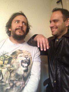 Luis damian (fotógrafo) y josé Gerardo (director)