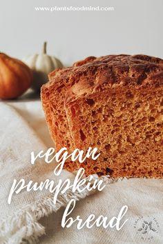 Baking Pans, Bread Baking, Best Homemade Bread Recipe, Homemade Breads, Bread Recipes, Vegan Recipes, Vegan Pumpkin Bread, Dry Yeast, Pumpkin Recipes