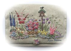 This luxurious kit contains absolutely everything needed to complete it. I have created this new design for the person who has some experience with embroidery.
