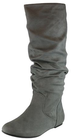 6c9d20686c5 Journee Collection Women s  Shelley-6  Regular and Wide-calf Buckle Slouch  Boot (Black - 7 - Medium) in 2019