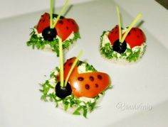Holiday Parties, Sushi, Flora, Cherry, Food And Drink, Baby Shower, Stuffed Peppers, Fruit, Vegetables