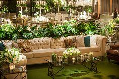 Decoração de casamento clássica em marrom, bege, fendi e dourado - Constance Zahn | Casamentos