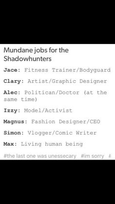 Max Hard But wish true. I like the imagination of alec being a politican and a Doctor they Are bot perfekt for him.
