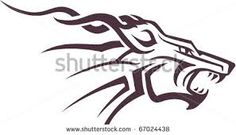 Image result for tribal design silhouette vector