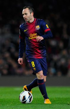Andres iniesta, whether on the field or off the field he is a man to respect.