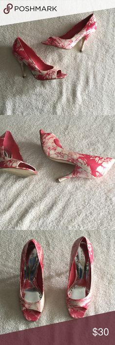 BCBGirls Shoes Good condition. Small damage in 6th picture. BCBGirls Shoes Heels
