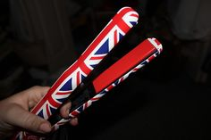 #British #England #Hair iron