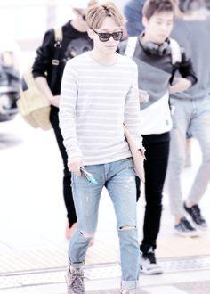 Chen ♥ Airport Fashion ♥ #EXO