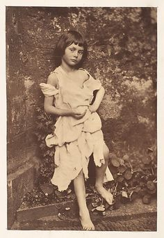 "Alice Liddell as ""The Beggar Maid""  Lewis Carroll  (English, 1832–1898)"