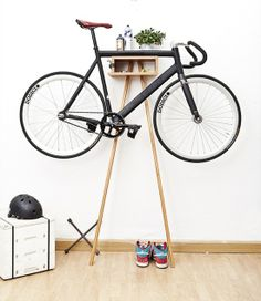 fun bike rack - for you rob! or rather kenneth