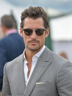 0671329823 Heartthrob David Gandy continues his romance with a mystery brunette