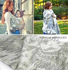 Baby Carrier Wrap Niyaha Ska , made by Pellicano Baby, in pattern Niyaha, contains cotton linen Limited Edition, released 28 October 2014 Baby Wearing Wrap, Baby Eyes, Baby Wrap Carrier, Baby Sling, Woven Wrap, Baby Wraps, Babywearing, T5, Candies