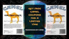 We have the latest free Camel Coupons available right now for a limited time. Visit our site to use our Camel Coupon generator and get yourself some free Camel cigarettes today! Free Coupons Online, Free Coupons By Mail, Digital Coupons, How To Flip Money, I Get Money, Cigarette Coupons Free Printable, Print Coupons, Lowes Coupon Code, Marlboro Coupons