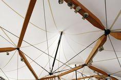 Cutty Sark Pavilion on Behance Timber Structure, Wood Construction, Pavilion, Ceiling Fan, Architecture Design, Shed, Behance, Building, Van