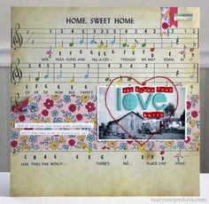 Cute. Love the sheet music.