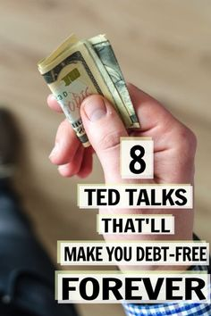 These financial TED talks contain great money saving on becoming debt free! I'm happy I found these money TED talks that will change your life! Now I have some great money tips and ways to become financially free. Make Easy Money, Ways To Save Money, Money Tips, Money Saving Tips, Money Budget, Managing Money, Groceries Budget, Money Hacks, Ted Talks