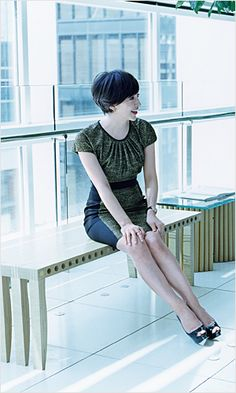 Christel Takigawa Short Bob Hairstyles, Cut And Color, Female Models, Fashion Models, Short Hair Styles, Hair Cuts, Handsome, Feminine, Beautiful Women