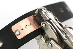 Metal Stamp Cuff Bracelet Tutorial.  Elizabeth Jenkins??