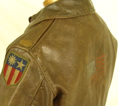An Excellent WW2 A2 Leather Jacket Lot.