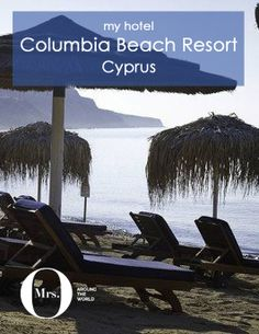 The Columbia Beach Resort, in Cyprus, is my kind of place: away from the crowds, small, and private. The resort is stunning, beautifully done. If you like a resort that isn't too large, comfortable, with great food and service, this is the place to go.