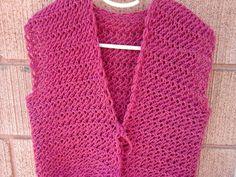 Colocar 119 pontos com um fio , na agulha para tricô nº7 e tricotar 30 cm do ponto abaixo: 1ª carreira: ...