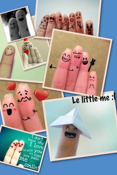 finger face family :)