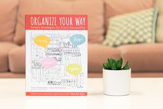 Discover your own unique way of organizing with our book, Organize Your Way! SPECIAL OFFER: Now - April 29, purchase Organize Your Way through our Instagram bio link and be entered to win a FREE virtual organizing session with Kelly and Katie (a $149 value)!