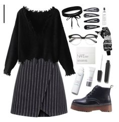 """""""NARS"""" by mode-222-366 ❤ liked on Polyvore featuring black"""