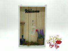 Cuadro mensaje decorativo, madera Paint, Home Decoration, Messages, Wood