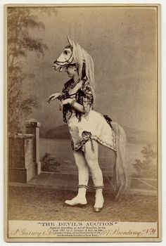 I love these photograph dated around 1890 of popular burlesque performer. Exotic dancers of the 1890s |