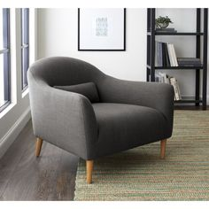 Pennie Chair | Crate and Barrel Use in Hallway alcove
