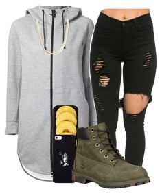 """""""Pineapples are slap """" by zayani ❤ liked on Polyvore featuring THE RERACS, Lindt, October's Very Own and Timberland"""