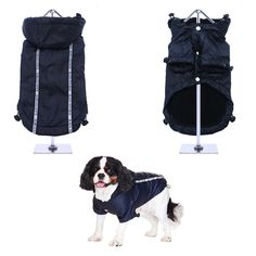 NEW - Ink Blue Rainstorm Rain Coat -Rain Jacket For All Sized Dogs - Dog Jackets - Pet Supplies - Dog Raincoat - Dog Waterproof Coat Dog Jacket, Rain Jacket, Dog Raincoat, Ink Blue, Waterproof Coat, Teacup Chihuahua, Body Warmer, Pet Accessories, Dog Bed