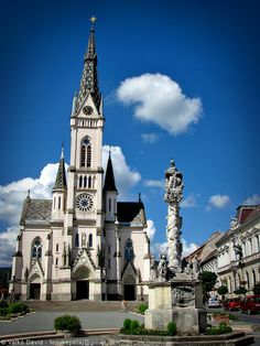 Church of Jesus' Heart (Jézus Szíve-plébániatemplom) in Kőszeg. Heart Of Europe, Space Place, Old Buildings, Cathedrals, Amazing Architecture, Temples, Castles, Places To See, Around The Worlds