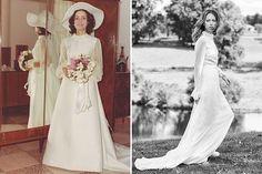 Beautiful Wedding Dresses Inspiration 2017/2018 : Wedding Dresses by Decade: Modernized Picks from Vintage Inspiration