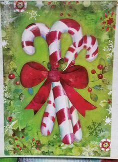 Candy Cane Flag 28x40 NWT  | Home & Garden, Yard, Garden & Outdoor Living, Garden Décor | eBay!