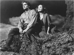 Laurence Olivier and Merle Oberon in Wuthering Heights (1939)- only the original will do for me!