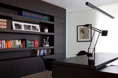 modern law office design work stations   FA Law Office Design by Chiavola+Sanfilippo Architects
