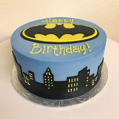 Holy cake Batman! #stuffedcakes #customcakes #batman by Stuffed Cakes StuffedCakes.com Custom Cakes | Seattle, WA, USA