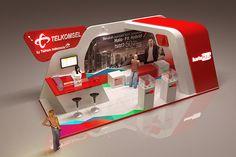 KartoHalo Exhibition Stand on Behance