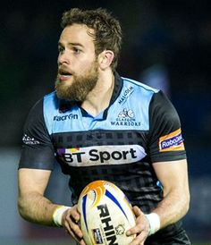 Glasgow Warriors are one of the two professional rugby union sides from Scotland. The team plays in the league and in the European Rugby champions cup Hairy Men, Bearded Men, Scottish Rugby, Rugby Men, Bt Sport, Rugby Players, Hairy Chest, Glasgow, Warriors