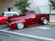 53 #Ford Pick up at Hot August Nights 2012