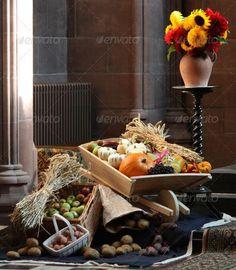#fallharvestdecorationssimple