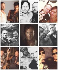 Dixon Brothers, The Walking Dead. I may not be really fond of Meryl, but if anything happens to them....TO THE STREETS!!!!!