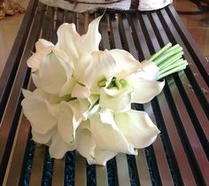 Bridal Bouquet White Mini Calla Lilies Weddings Birthdays Anniversaries Terra Flowers Miami For More Styles Please Visit Www