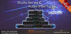 Presonus Studio Series C , schede audio evolute con USB-C - MMagazine Audio, Usb, Tecnologia