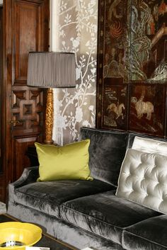 Windsor Smith. Love the richness of the colors and fabrics in this space. The picture's link takes you to a slideshow of some beautiful rooms.