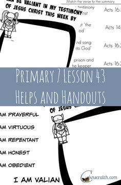 Lds Primary 7 Lesson 38 Homework - image 4
